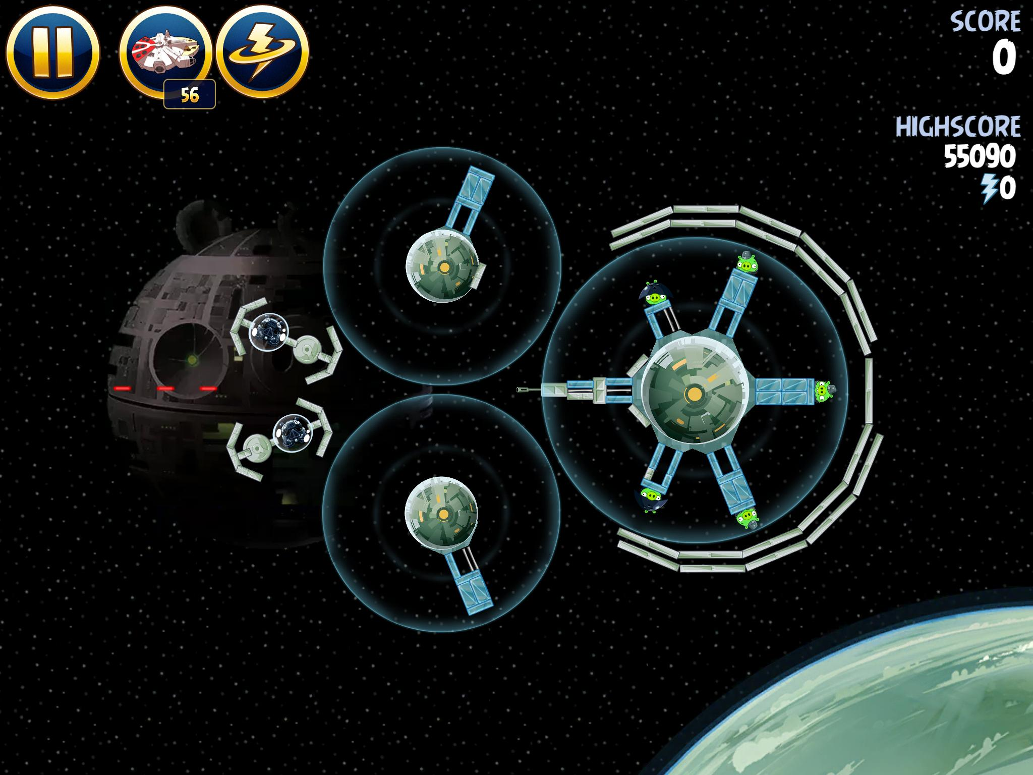 Death Star 2 6-11 (Angry Birds Star Wars)
