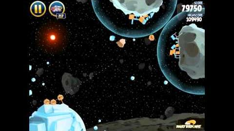 Hoth 3-21 (Angry Birds Star Wars)/Video Walkthrough