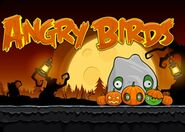 Angry Birds Halloween плакат
