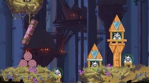 Moon of Endor 5-3 (Angry Birds Star Wars)/Video Walkthrough