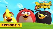 Angry Birds Slingshot Stories Ep 1 - First Level Ever!