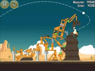 Official_Angry_Birds_Walkthrough_Ham_'Em_High_14-16