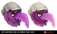 Yao-ran-abt-nightbird-icon-3d-render-paint-over