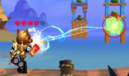Epic Optimus Attacking