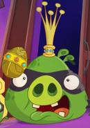 Rey Cerdo Ladrón Angry Birds Toons