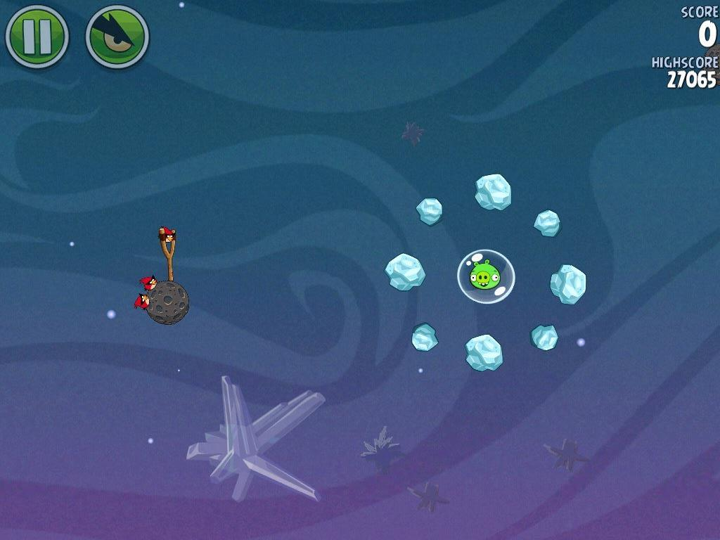 Cold Cuts 2-1 (Angry Birds Space)