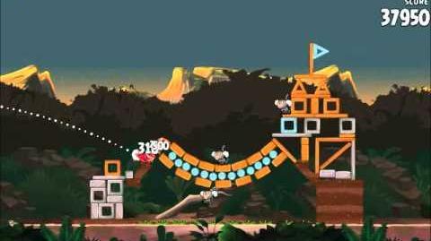 Official Angry Birds Rio Walkthrough Jungle Escape 3-9