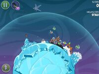 Fry Me To the Moon 3-4 (Angry Birds Space)