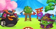 Свинка-фокусник в игре