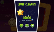 Angry Birds Space - выигрыш