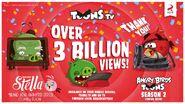 Angry Birds Toons (Плакат)