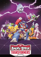 Angry Birds Transformers Poster 3D