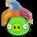 Cerdo Bufón Angry Birds 1