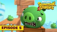 Angry Birds Slingshot Stories Ep 5 - TNT? Not for me!