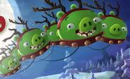 Cerdo Reno Angry Birds Tarjeta de Título