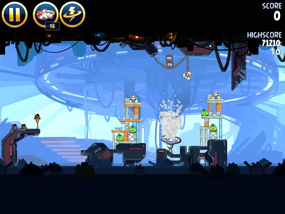 Cloud City 4-23 (Angry Birds Star Wars)