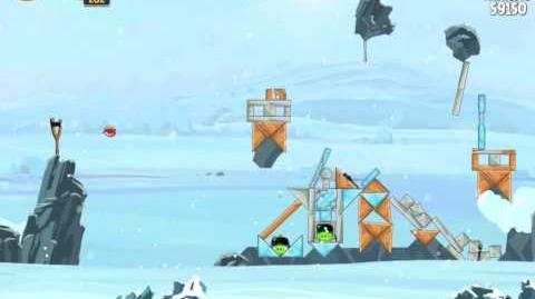 Hoth 3-10 (Angry Birds Star Wars)/Video Walkthrough