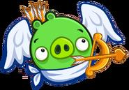Cerdo Cupido Angry Birds Friends