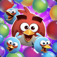 Angry Birds POP! Red And The Blues Icon