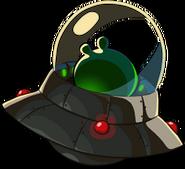Piggy in UFO