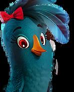 Flocker Blue Portrait 013