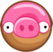 Angry Birds Friends Donut Pig.png