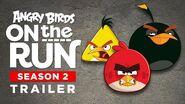 Angry Birds On The Run Season 2 Trailer!
