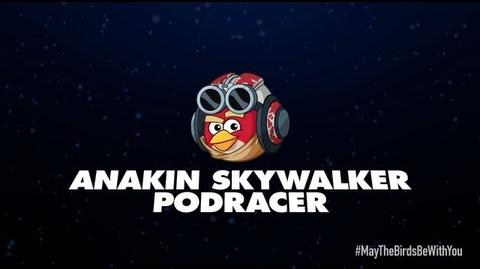Angry Birds Star Wars 2 character reveals Anakin Skywalker Podracer-0