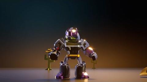 Angry Birds Transformers Corporal Pig as Galvatron