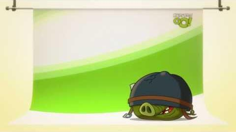 NEW! Angry Birds Go! character reveals Corporal Pig