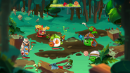 Квадратный лес 1-3