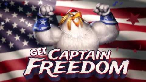Angry Birds Evolution Get Captain Freedom