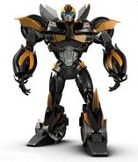 Beast Hunters Stealth Bumblebee Robot Mode Image from Transformers Prime Season 3 scaled 600