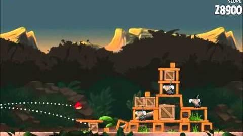 Official Angry Birds Rio Walkthrough Jungle Escape 4-12