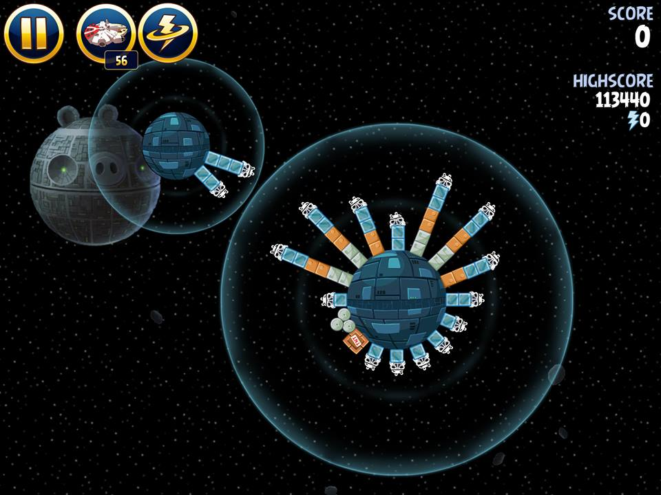 Death Star 2-5 (Angry Birds Star Wars)