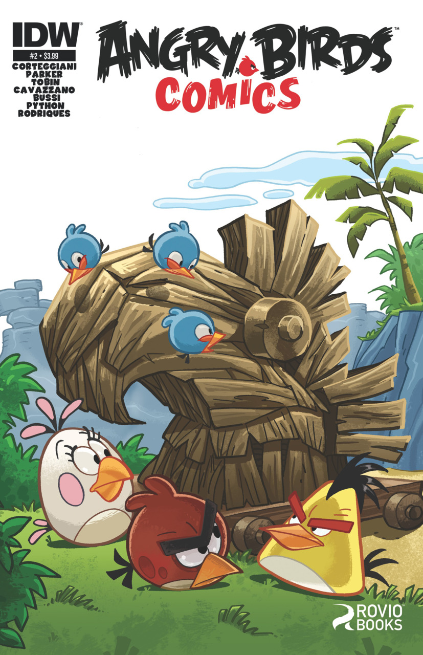 Angry Birds Comics Issue 2