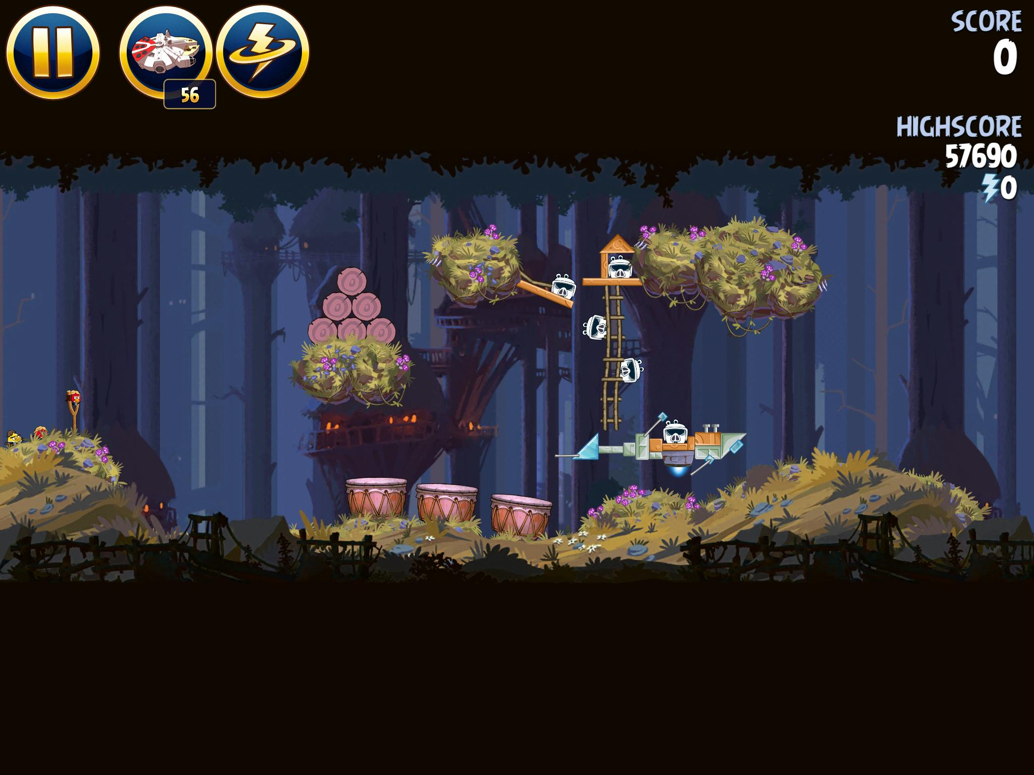 Moon of Endor 5-19 (Angry Birds Star Wars)