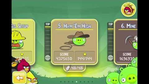 Angry Birds Golden Egg 7 Walkthrough