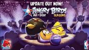 Angry Birds Seasons - Larry Bird plus the NBA All-Star Update!