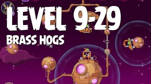 Brass Hogs 9-29 (Angry Birds Space)