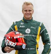 Heikki with helmet