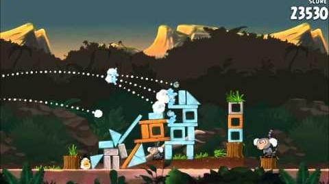Official Angry Birds Rio Walkthrough Jungle Escape 3-6