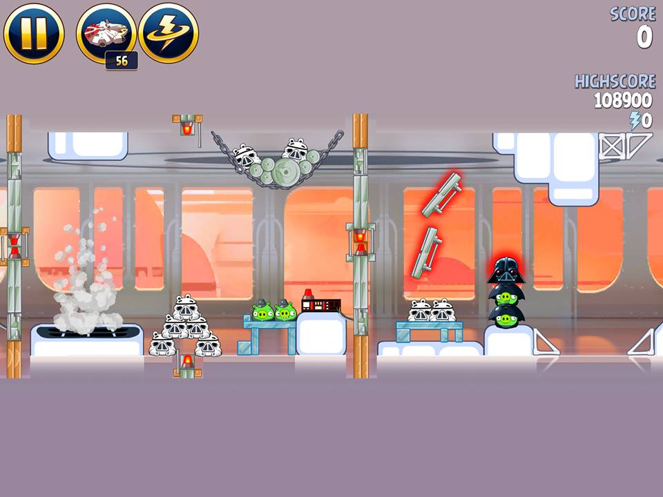 Cloud City 4-20 (Angry Birds Star Wars)