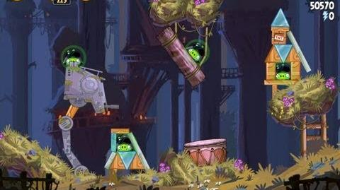 Moon of Endor 5-20 (Angry Birds Star Wars)/Video Walkthrough
