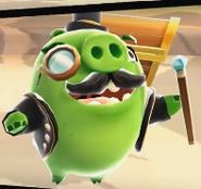Cerdo Elegante Angry Birds Action