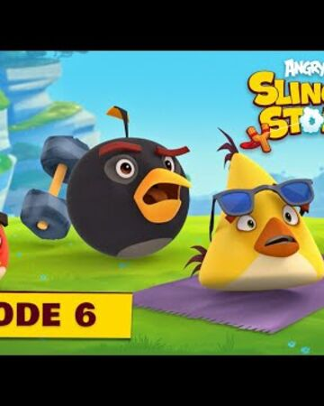 Angry Birds Slingshot Stories S2 - Power-Up Ep 6.