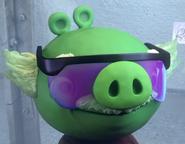 Cerdo Profesor Test Piggies Lentes