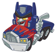 OPTIMUS PRIME RED TRUCK 2