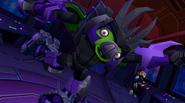 Ultimate Megatron After Completing Level