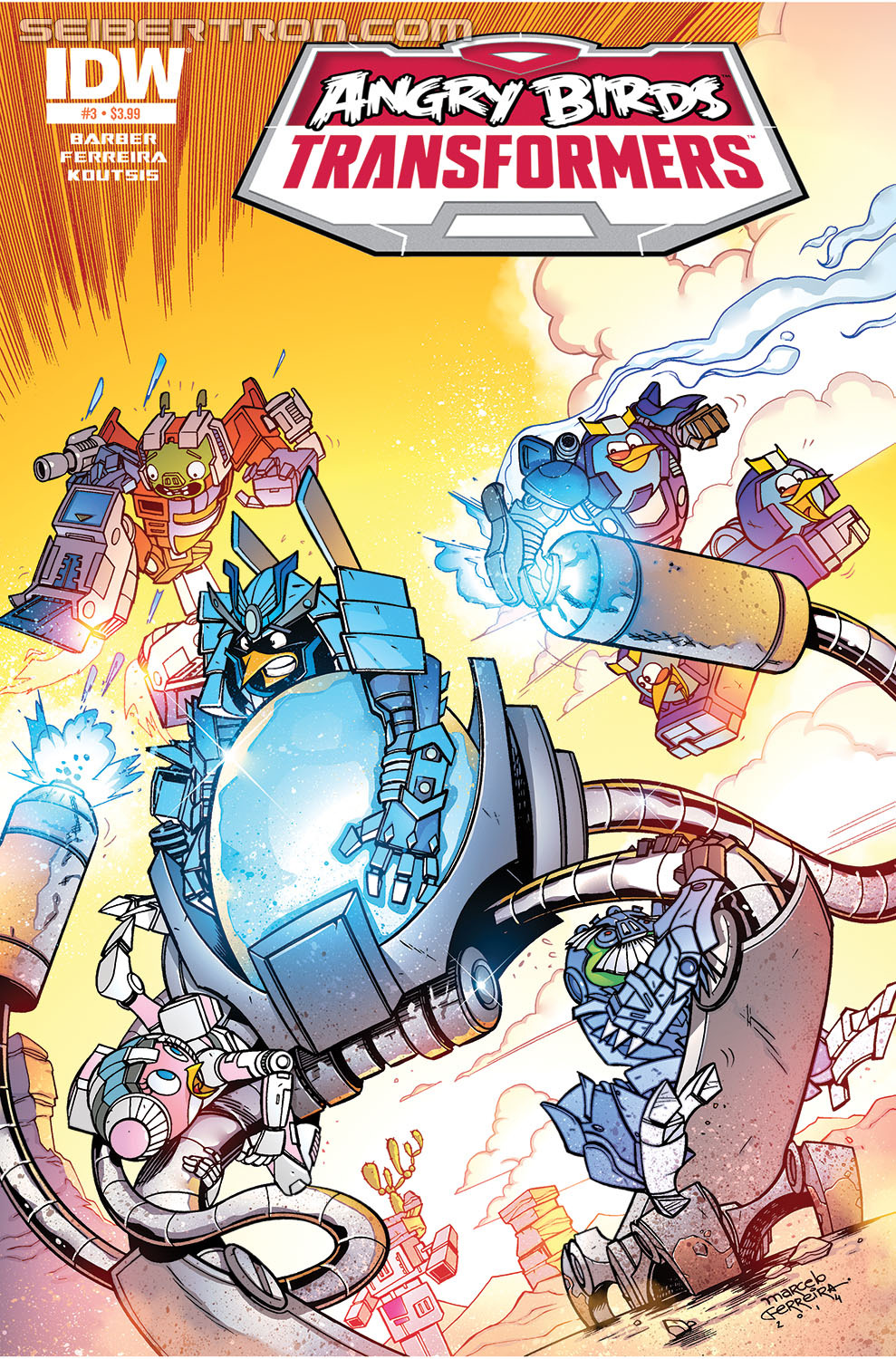Angry Birds Transformers Issue 3